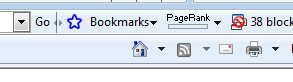 IE 8 - Google Bookmarks