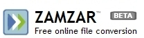 Zamzar file conversion