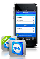 teamviewer iphone app