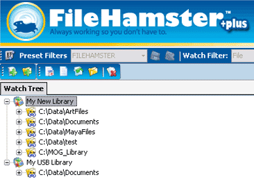 FileHamster Interface