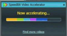 SpeedBit Video Accelerator interface