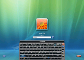 Virtual Keyboard Logon