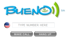 Bueno free calls to usa