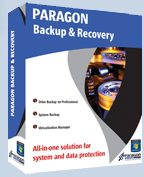 Paragon backup and Recovery 10 logo