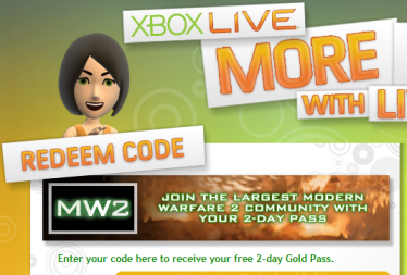 xbox live gold pass
