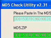 MD5 Checker Interface