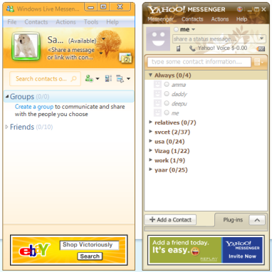Yahoo Messenger 9.0 Final is available for download, a week after Microsoft