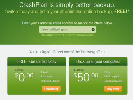 crashplan free offer