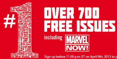 free marvel comics