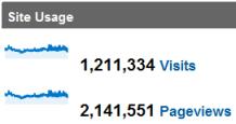webisee 2010 site usage stats