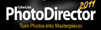 Cyberlink PhotoDirector 2011 logo