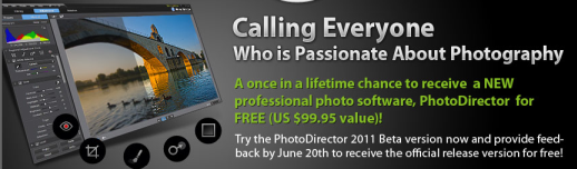 PhotoDirector Promotion Page